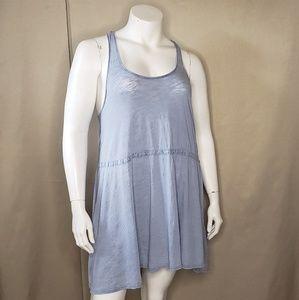 BDG Blue Cotton Tank dress size large